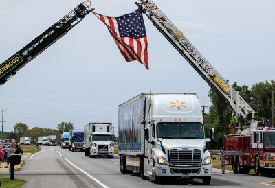 Hundreds of trucks annually take part in the Truck Convoy, which travels 28 miles through scenic Sussex County.