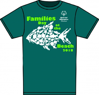 The official 2018 Families Day at the Beach T-shirt can be ordered when registering.